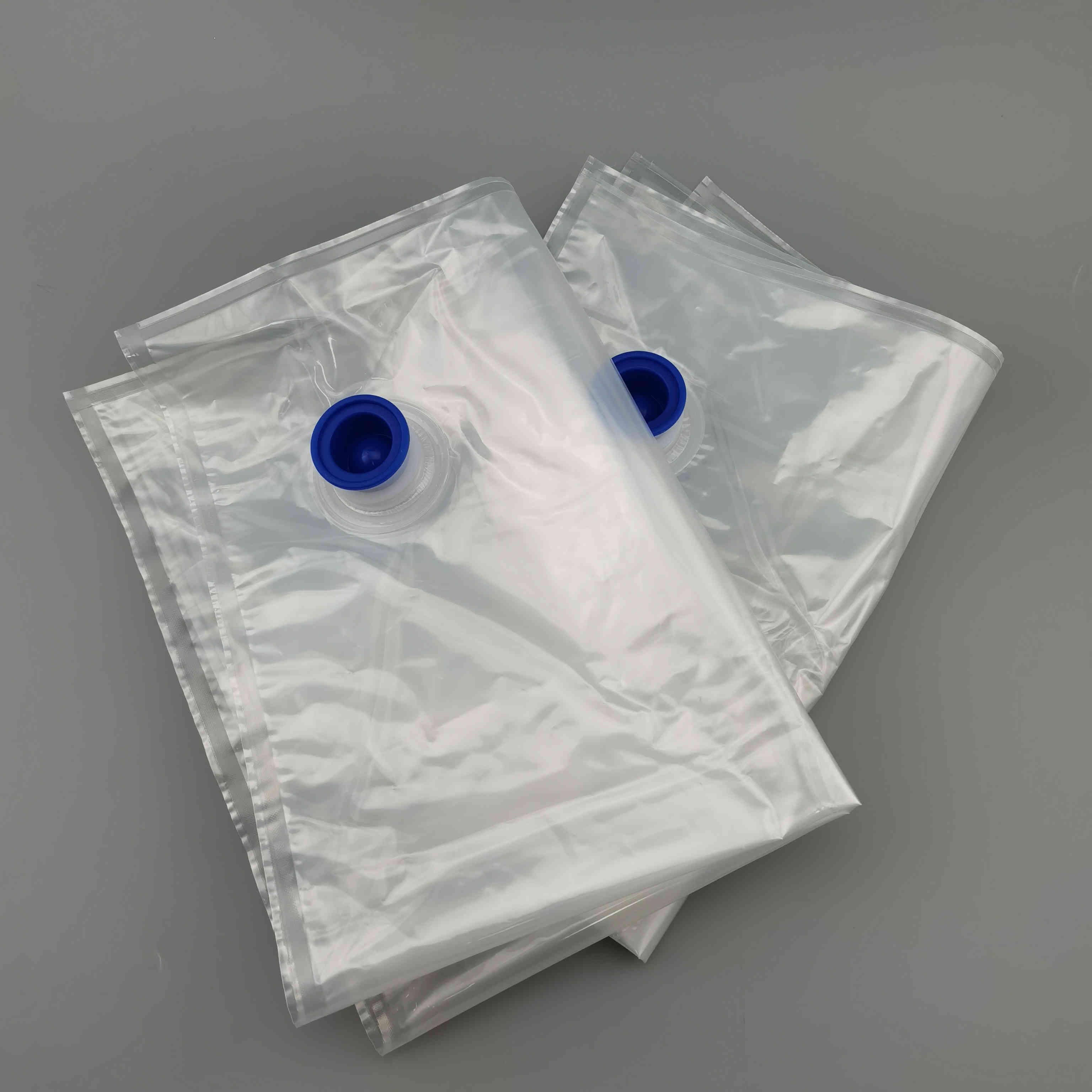 现货3L 5L 10L镀铝盒中袋 红酒葡萄酒包装袋无菌液体包装袋蝴蝶