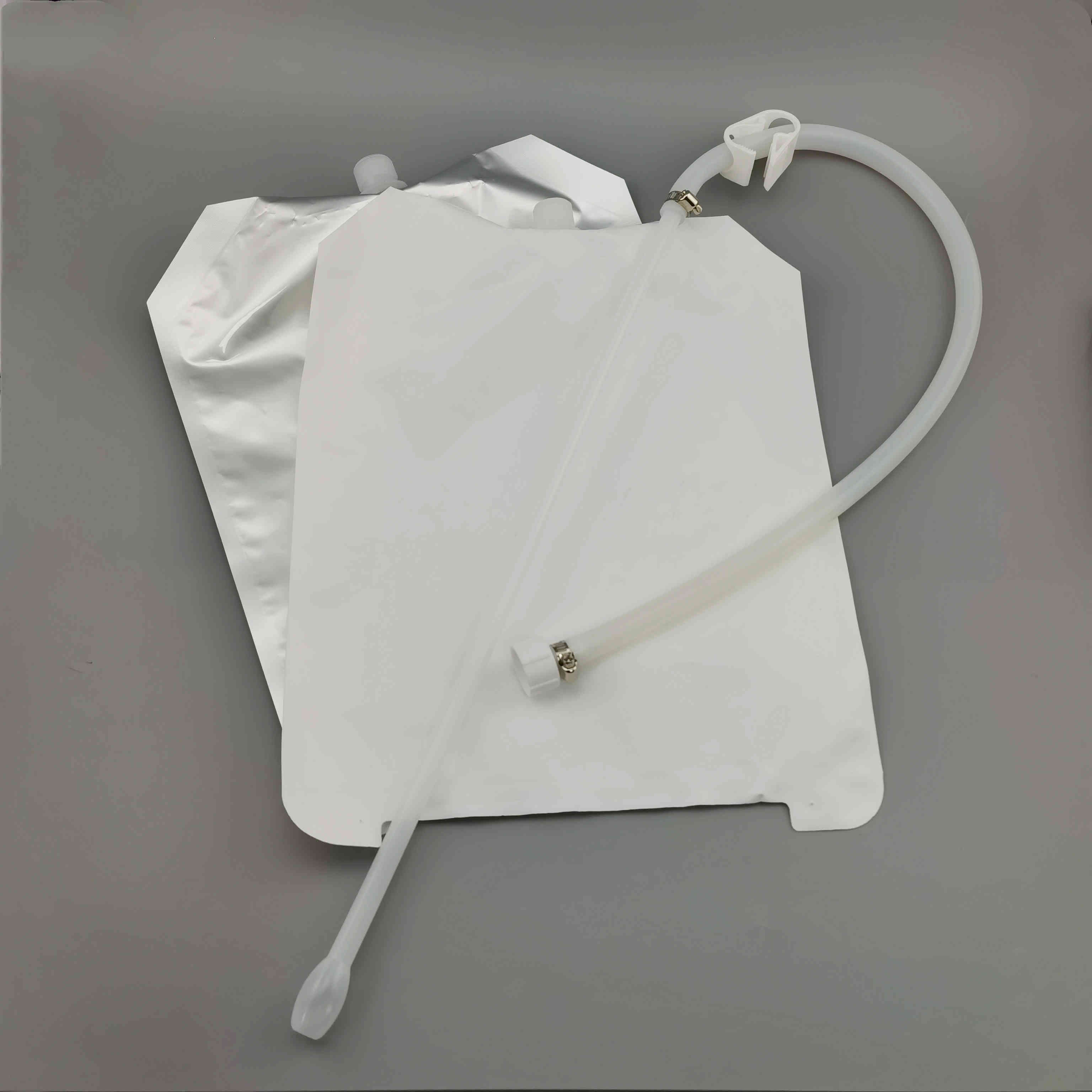 4L牛初乳袋犊牛初乳罐服导管包装袋牛奶包装内袋灌服吸嘴袋配外框