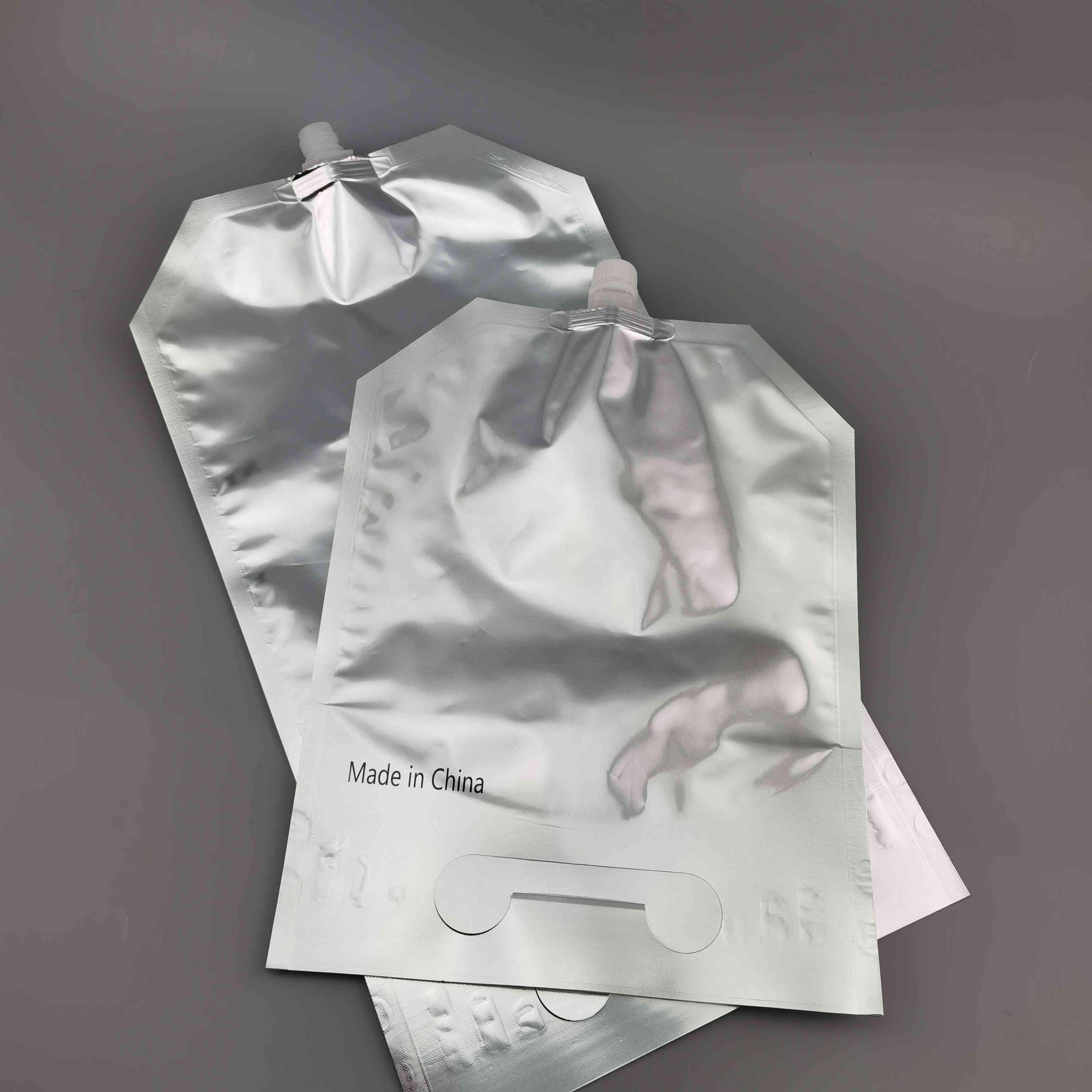 定制4千克母牛初乳罐服吸嘴袋犊牛初乳铝箔自立吸嘴袋存储液体袋
