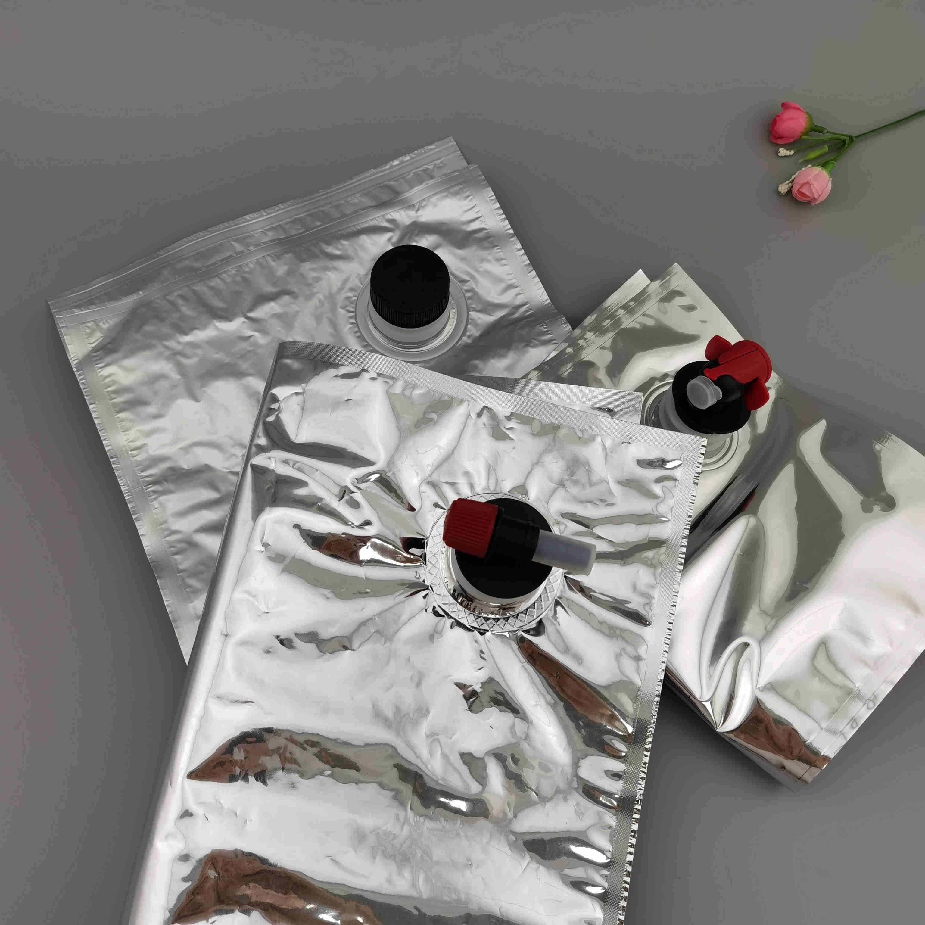 实力厂家直供蝴蝶阀盒中袋 果汁鸡蛋液等液体包装袋 1-20L可定制