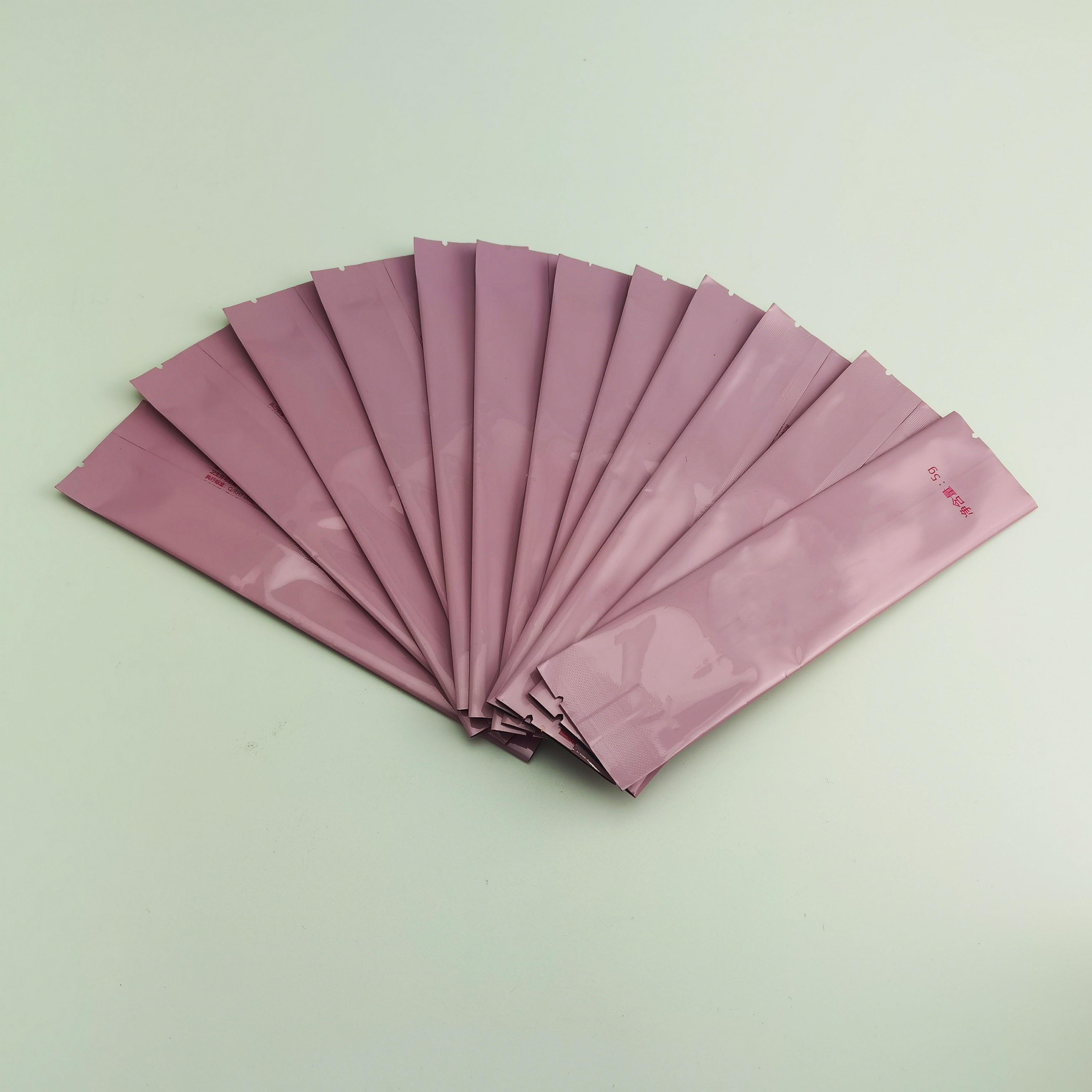 三边封铝箔包装袋网红酵素包装袋食品颗粒状包装袋易撕口镀铝袋